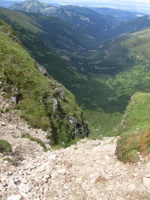 Dolina Starej Roboty #Góry #Tatry #StarorobociańskiWierch