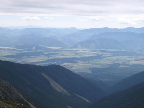 Tatry Niżne ze Starorobocińskiego Wierchu #Góry #Tatry #StarorobociańskiWierch