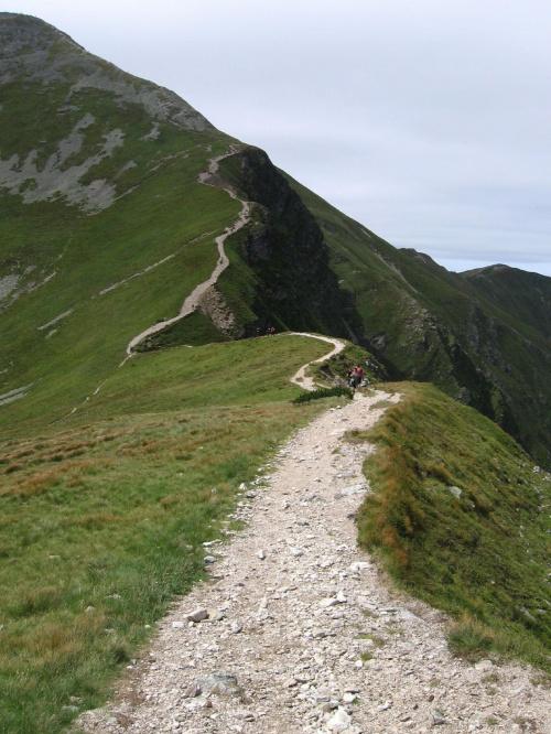 Podejście na Starorobociański W #Góry #Tatry #StarorobociańskiWierch