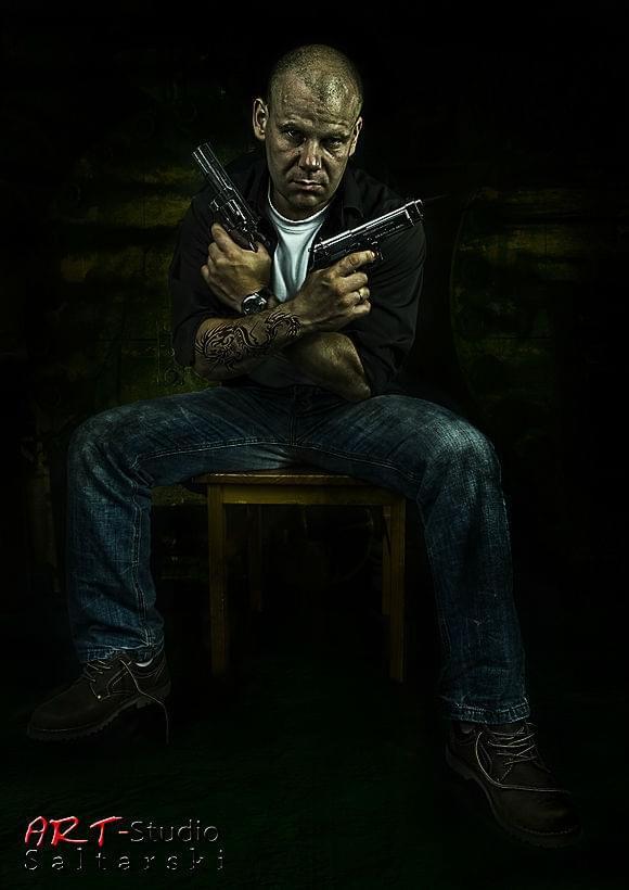 Grzegorz-36 lat. #Gangster #LowKey #Mężczyzna #Studio