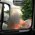 #alfa #płonąca #płonie #pożar #PłonącySamochód #ogień #OgieńWAucie #OgieńWSamochodzie