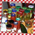 Przetwory na zimę (2) #jedzenie #gotowanie #kuchnia #słoiki #spiżarnia