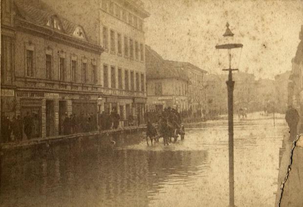 Powódz Poznań 1888 rok 1888 - Garbary_0001