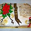 Księga....... #tort #księga #książka