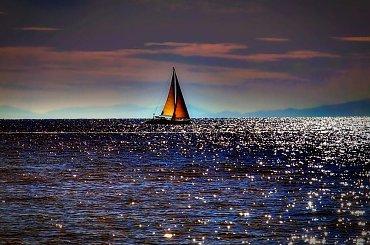 Morze jest moim spowiednikiem.