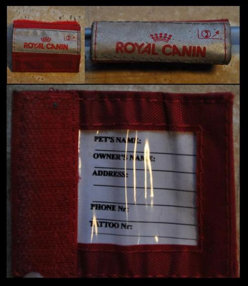 adresówka RC #adresówka #obroża #RoyalCanin