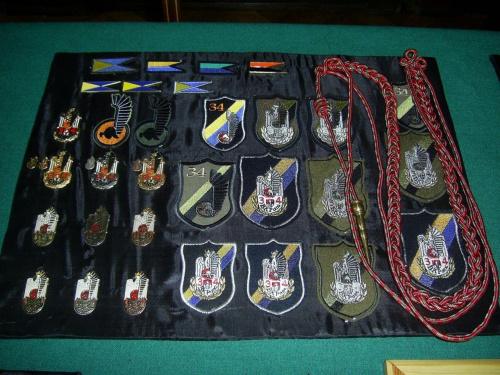 Emblematy i odznaki 34 BKPanc. #Militaria #Modelarstwo