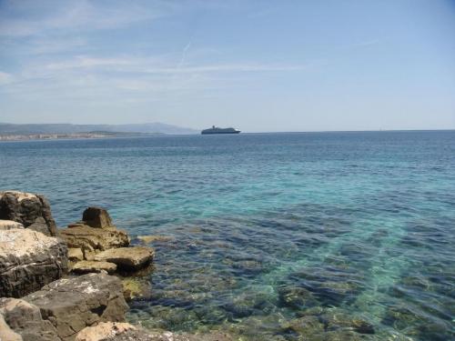 Widok na Morze Śródziemne...