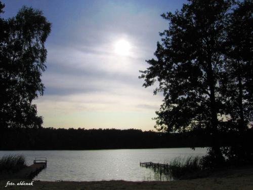 sobotnie popołudnie nad jeziorem