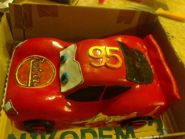 Tort - Zigzag McQueen #tort