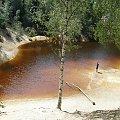 purpurowe jeziorko w Wieściszowicach #KoloroweJeziorka #RudawyJanowickie #Wieściszowice