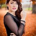 Karolina jesiennie #kobieta #dziewczyna #portret #strobing #nikon #passiv #airking #d700