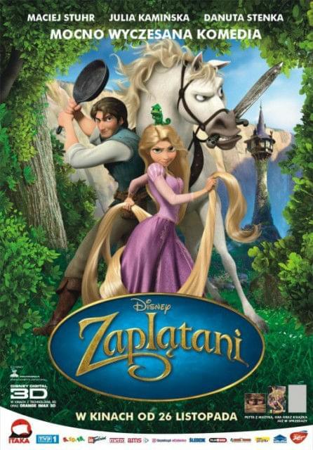 Zapl±tani / Tangled (2010) PL.DVDRip.XviD || DUBBING PL