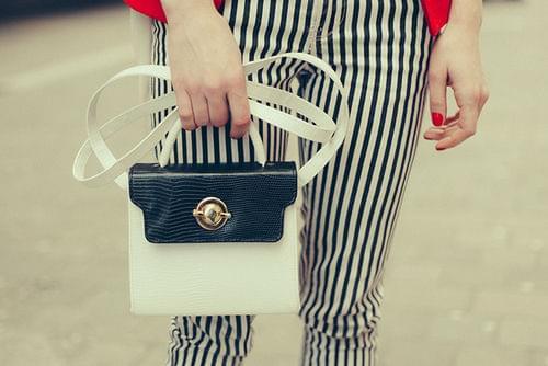 Inspiracje biało-czarne, black white moda, blog modowy, odzież