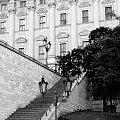 #Praga #schody #architektura #lampy