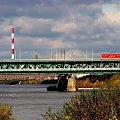 Zerknięcie na Wisłę,Most Gdański i EC Żerań #Warszawa #NoweMiasto #Wisła