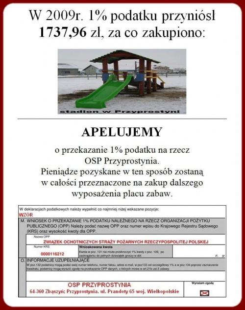 #Zbąszyń #PłomieńPrzyprostynia #Przyprostynia #RegionKozła #PlacZabaw #OSPPrzyprostynia