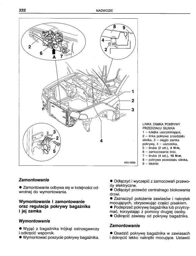 Wymontowanie i zamontowanie wzmacniacza antenowego