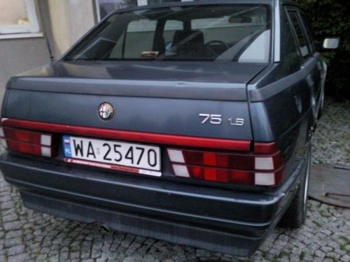 #Alfa75Turbo
