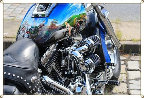 "Ten tez chyba posiada "" dusze "" #harley #motocykl #zlot"