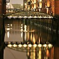 Port #Hamburg #port #noc #woda #odbicie
