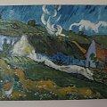 miniatura V.Van Gogh'a ''wieś'' ( Olej - płótno 30x40 1996 ) (cena 80 + wysyłka) #drzewo #prezent #obraz #natura #las #góry #przyroda #sztuka #olej