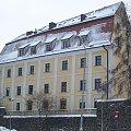 ... #lubań #budynki #okręt #zima