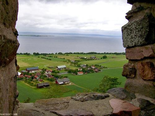 #szwecja #ruiny #widok #brahehus