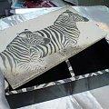 #decoupage #rękodzieła #MalowaneRęcznie #szkatułka #zebry #retro #DekoracjeRetro