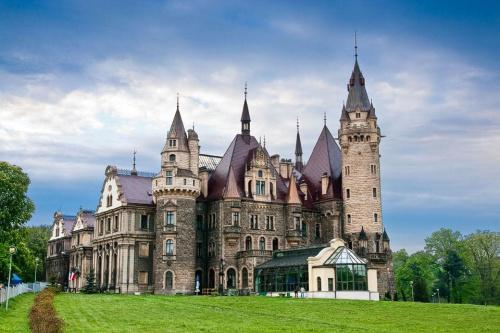 Moszna - pałac #Moszna