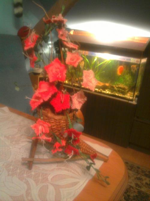 szydełkowe kwiaty #szydełko #rękodzielnictwo #KwiatySzydełkowe