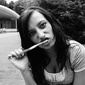 Myjemy zęby xD #Pych #kobieta #zęby #szczoteczka