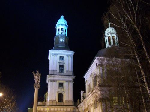 #bazylika #trzebnica #kościół #nocne