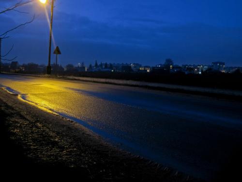 Wieczorny widok z mojego okna