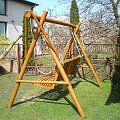 huśtawka drewniana szydłowiec nowa sprzedaż #huśtawka #drewniana #ogród #wyposażenie #nowa #szydłowiec