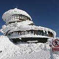 nie wchodzić.. #architektura #góry #karkonosze #katastrofa #śnieg #śnieżka #talerze #zima #żywioł