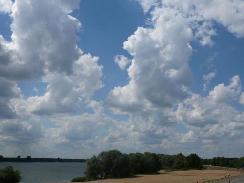 Plaża w Płocku #ChmuryPlażaWisła