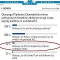 Poparcie dla PO #PlatformaObywatelska #sondaż #wybory #polityka #dziennik #Tusk #premier #DonaldTusk #PrezesRadyMinistrów