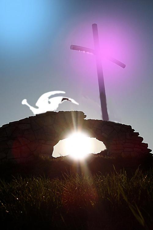 zmartwychwstał prawdziwie ... Alleluja !!! - wszystkim Wam wspaniałych świąt i zadumy radosnej nad tym co się stało ... -)